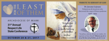 Archdiocese of Miami: 31st Annual Respect Life State Conference