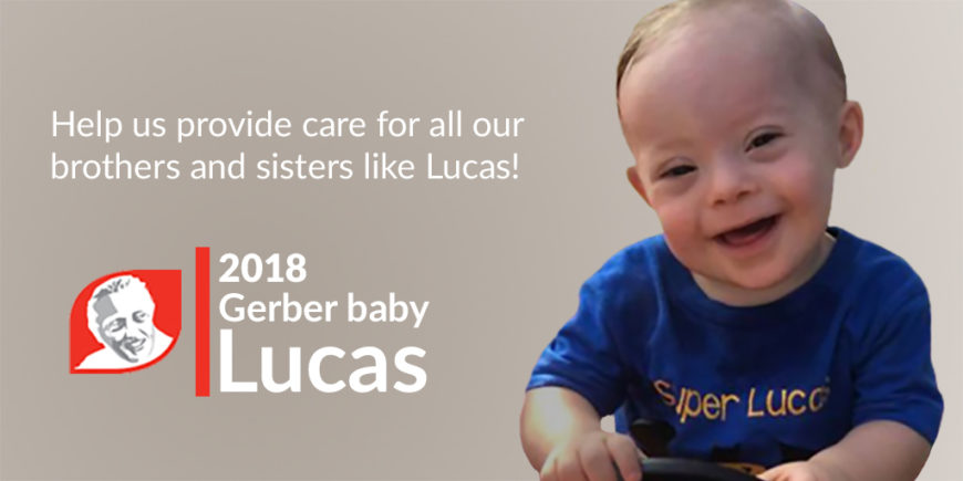 PRESS RELEASE: Jerome Lejeune Foundation USA Celebrates Lucas, the First Gerber Baby with Down Syndrome