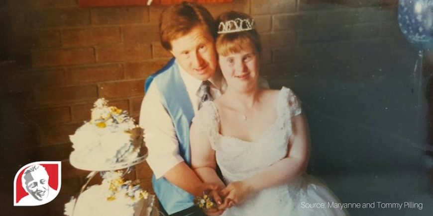 The secret to happiness for couple with Down syndrome married 23 years