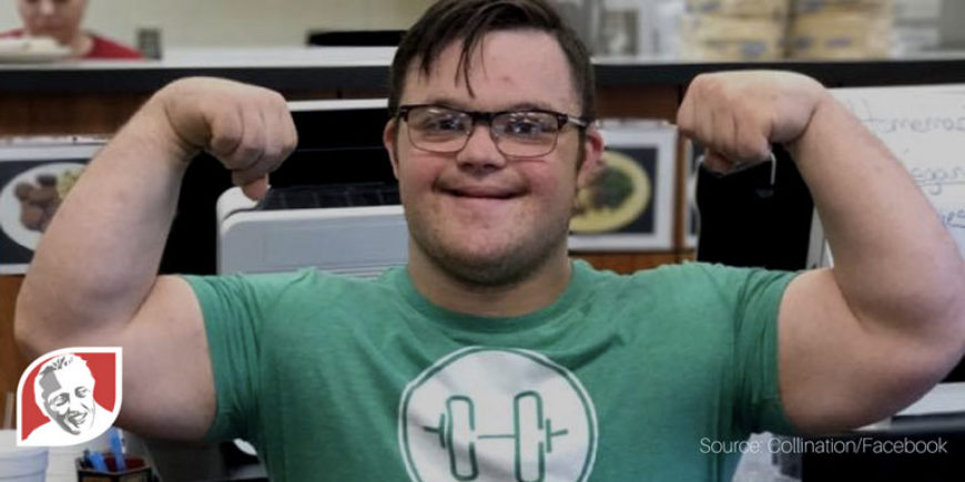 Collin Clarke, bodybuilder with Down syndrome, is an inspiration