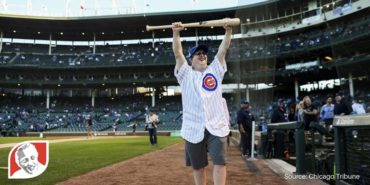 Cubs fan with Down syndrome sings anthem