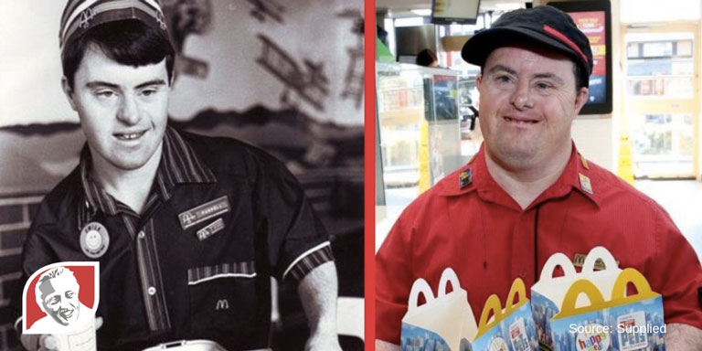 Man with Down syndrome retires after 32 years at McDonald's