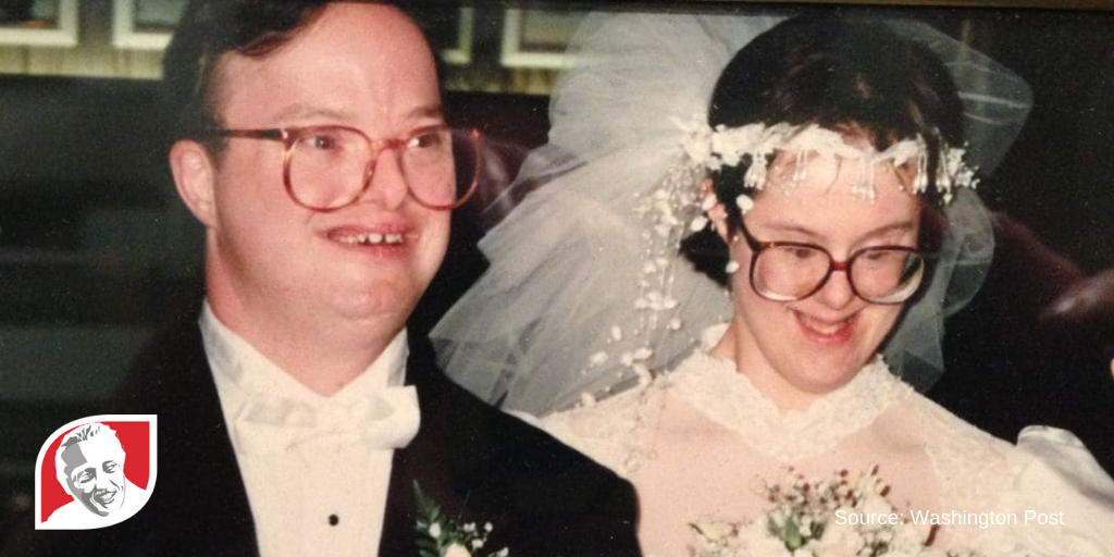 "Couple with Down syndrome married 25 years: ""role models"" for marriage"