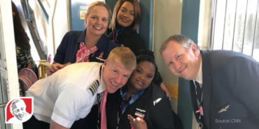 Bubbly 17-year-old girl with Down syndrome becomes honorary flight attendant