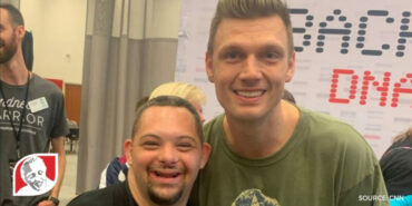 The Backstreet Boys surprise fans with Down syndrome by giving them backstage passes