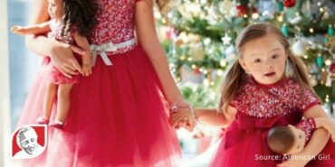 American Girl features model with Down syndrome