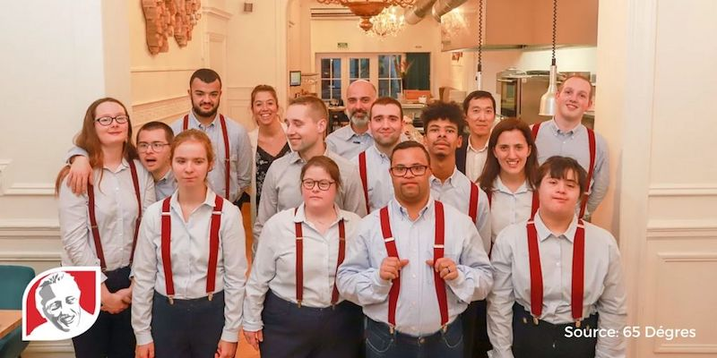 65 Dégres proves that people with Down syndrome can succeed in the restaurant industry