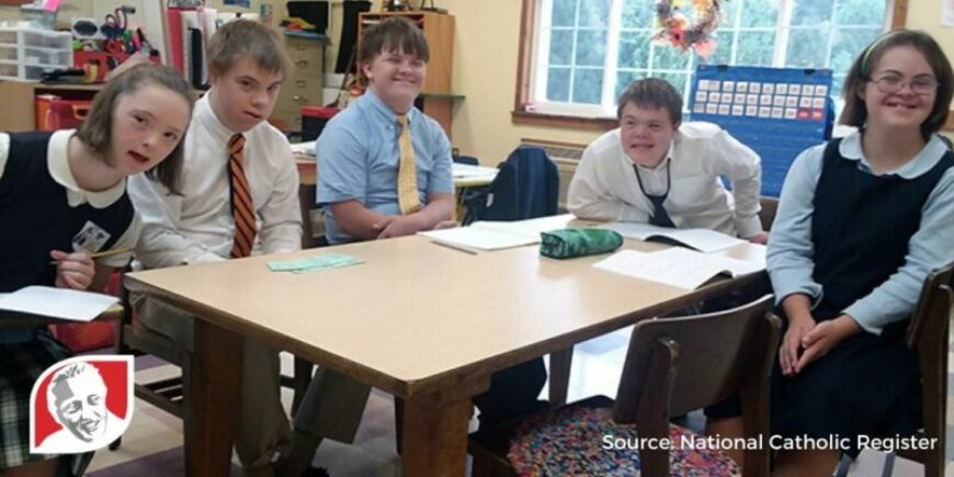 Virginia school offers students with Down syndrome an enriching education
