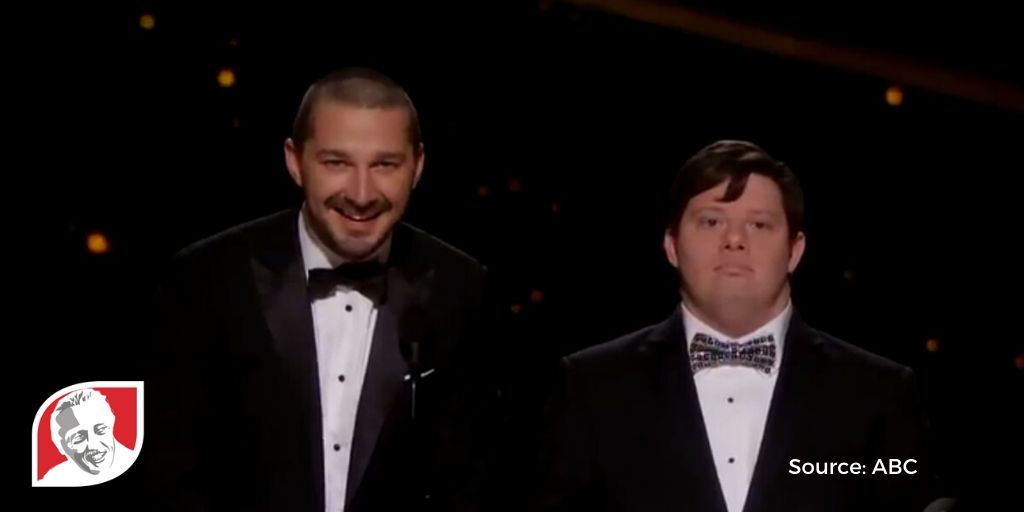 The Oscars include a presenter with Down syndrome in historic first
