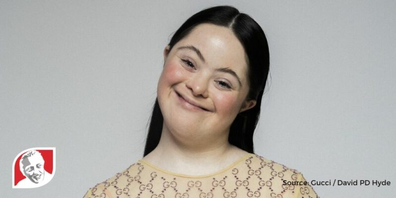 Gucci features model with Down syndrome in mascara campaign
