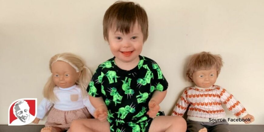 Kmart Australia launches line of dolls with Down syndrome