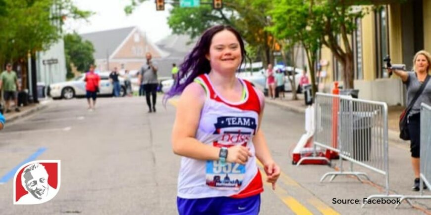 Girl with Down syndrome finds passion in running